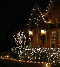 ... to Properly Hang and Secure Christmas Lights and Holiday Decorations