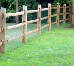 yard-fence-post-rail & Compare Split Rail Fence Installation Costs